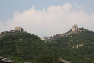 Great Wall Badaling Section by Cilmeron