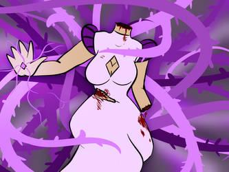 Purple Diamond Lady by Cotton-Candy-Fruit