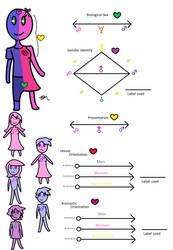 My Genderbread Man by TheGayFoxBoy