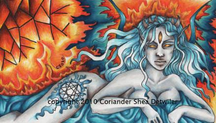 Dreamer of the Eternal Fire by PhantomsRose