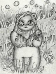 Ewok's Flower by PhantomsRose