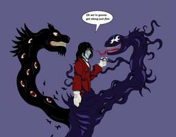 Alucard meets Venom by splaty