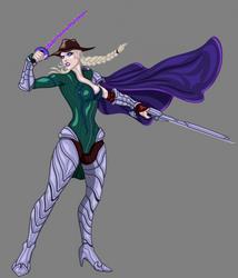 Evelyn: Curse-Hunters by splaty