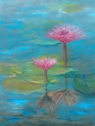 Two Water Lilies by douglascampos
