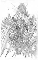 Arkham Batman by BChing