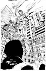 cyborg superman by BChing