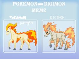 Pokemon-Digimon meme by bbslugger