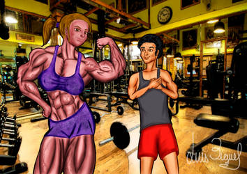 GYM-LOVE by Luis3iguel
