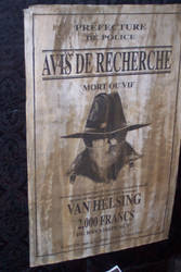 Wanted -  Van Helsing by InvisibleCorpseGirl