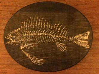 Fish Skeleton #2 by ManifestiV