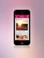Free Miligram Photo App Design by tempeescom