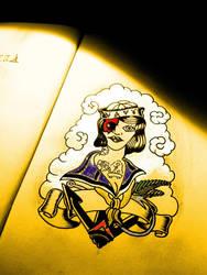 Sailor Woman Zombie by Mibooo