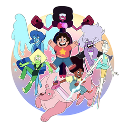 We are the Crystal Gems! by eriqkhearztt