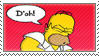 simpsons: D'oh by tamystock