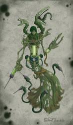 Toxicas true form by polawat by HorrorClub