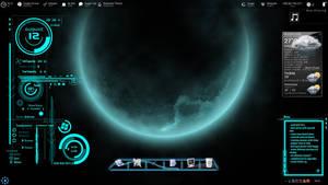 Futuristica Desktop by jawzf