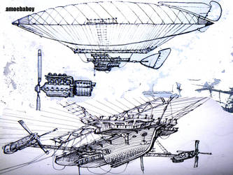 Airshippery Copy by amoebabloke