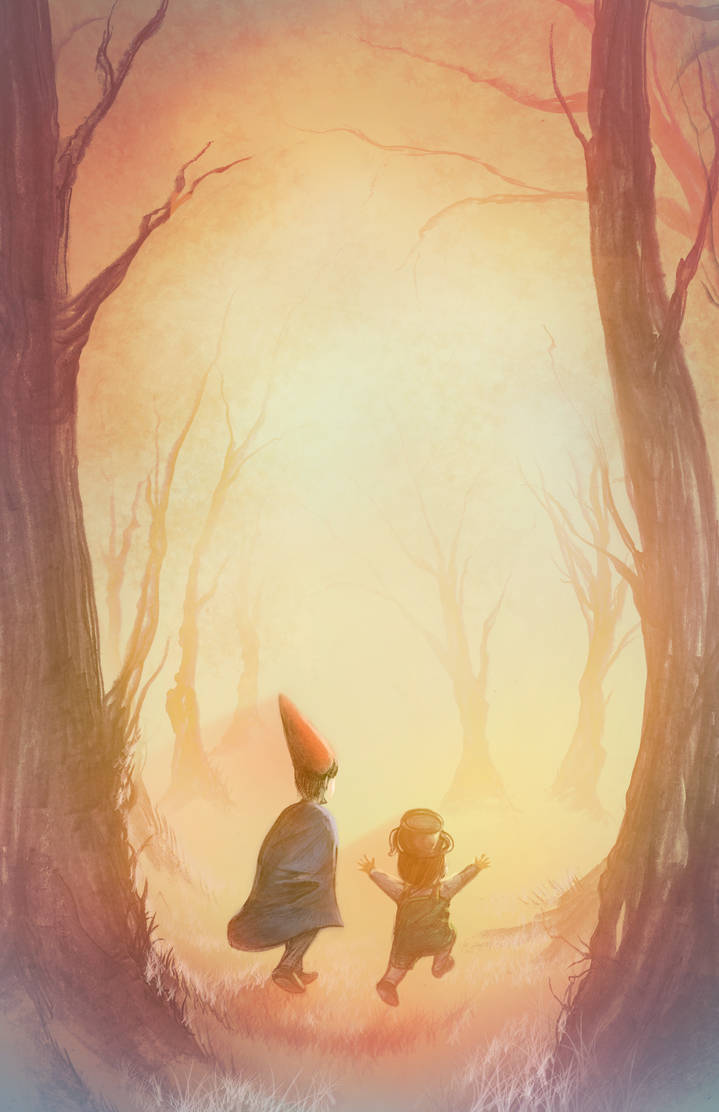 Into the Unknown - Over the Garden Wall by SWNightingale