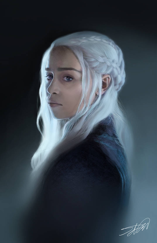 Daenerys Targaryen by SWNightingale