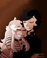 Hugs by SerpentineSaltern
