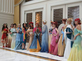 Disney Princesses- Taken at Katsucon 2018 by BrinyCosplay