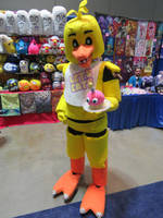 Chica- Taken at Connecticon 2018 by BrinyCosplay