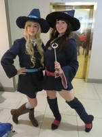 little witch academia- AnotherAnimeConvention 2018 by BrinyCosplay