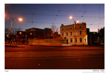 Trams in Melbourne by Sostopher