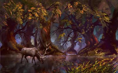 Forest by JoeDiepstraten