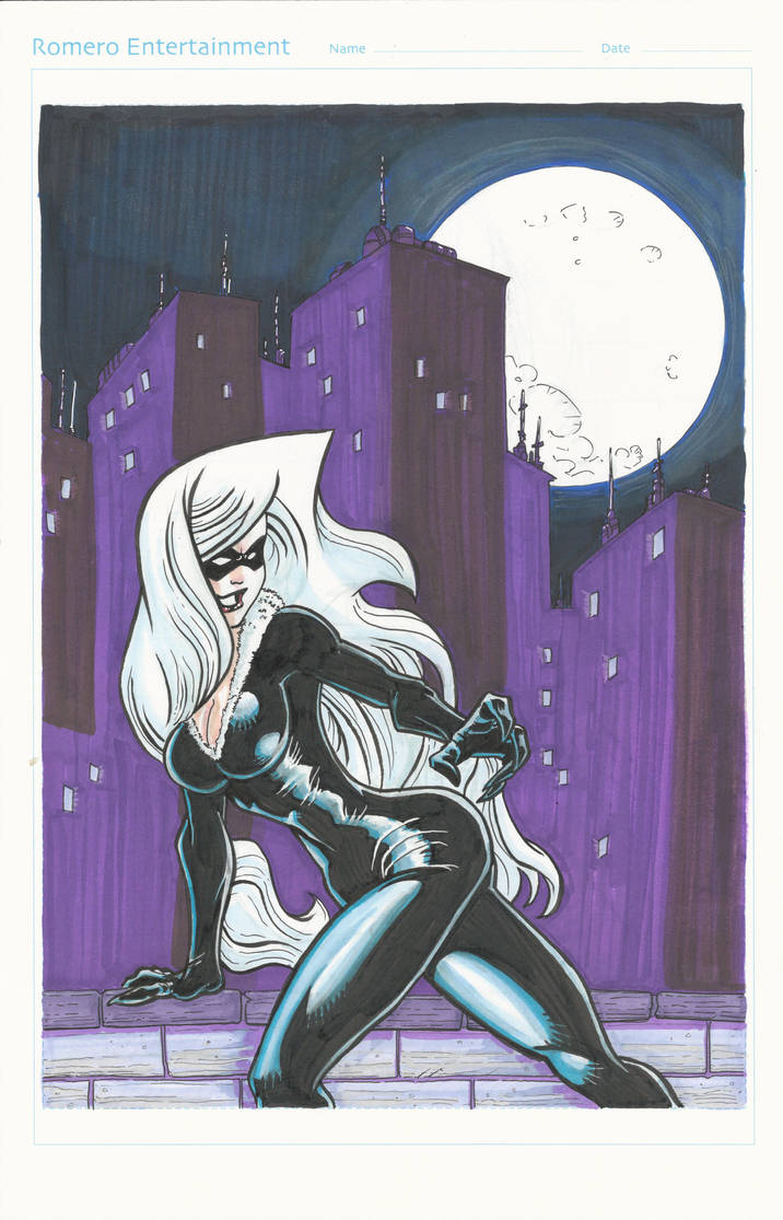 Black Cat by masamune7905