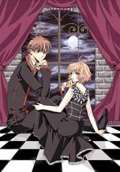 Sakura and Syaoran by 0Febris0