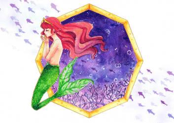 Underwater Princess by 0Febris0