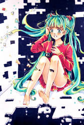 The disappearance of Hatsune Miku by 0Febris0