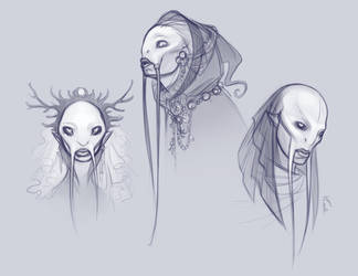 Fish People by ZombieLady