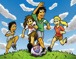 JC: World Cup Kids by byakurai1313