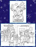 2014 Christmas Card by byakurai1313