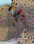 Climbing by byakurai1313