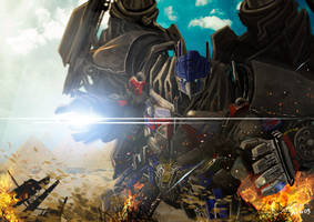 Optimus Jetprime by garonkeren