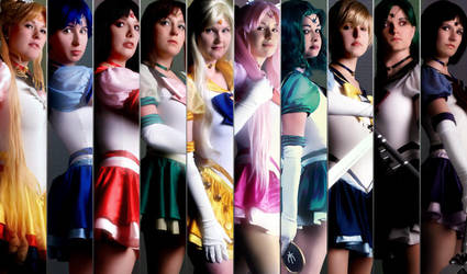 Sailor Moon - The Senshi by DarkMoonProject
