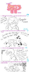 Princess Tutu fanart meme by Mangaka-chan