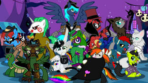 Nightmare Night Group Pic 2014 by Lightning-Bliss
