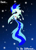 Sapphire Heart Song Elegant Poster Commission by Lightning-Bliss
