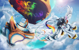 Once Upon a Zeppelin by Elicitie by Lightning-Bliss