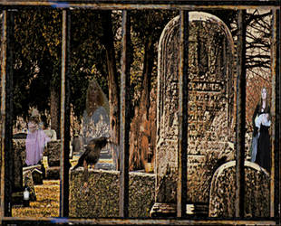 Roaming around the graveyard by Ambruno