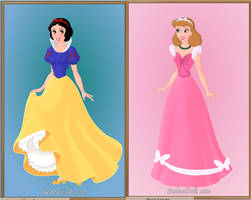 Disney Princesses Part 1 by amanmangor