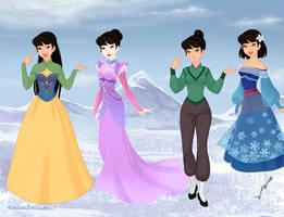 Mulan- Frozen style. by amanmangor