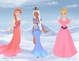 Disney Heroines 5 by amanmangor