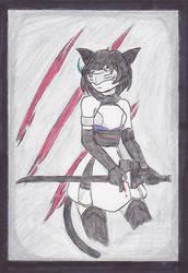 [Hue. Character Bio] :Codename: Kuro: by NisuKitsune