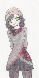 [Hue. Outfits] Rubi's Winter Plaid by NisuKitsune