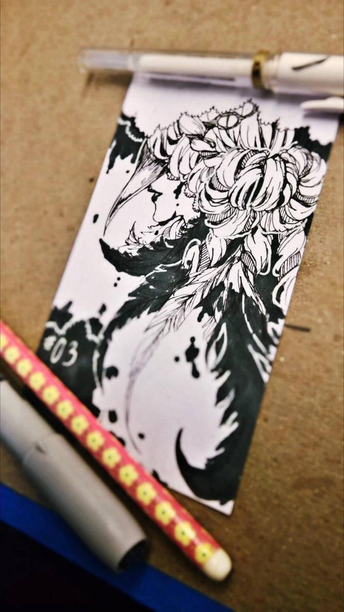 03|| Inktober 2017 by akiicchi